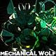 Mechanical Wolf VJ Loop Pack (11in1) - VideoHive Item for Sale