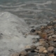 Silky Waves on the Sea Pebbles Shingle Beach - VideoHive Item for Sale