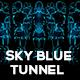 Sky Blue Tunnel VJ Loop Pack (8in1) - VideoHive Item for Sale
