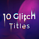 Glitch Titles Sequence - VideoHive Item for Sale