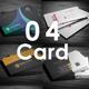 04 Business Cards Bundle