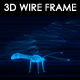 Butterfly 3D Wire Frame - VideoHive Item for Sale