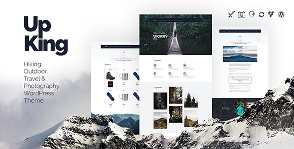 Upking - Hiking Club WordPress Theme - WordPress