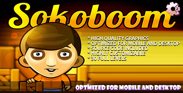 Sokoboom - (C2 + C3) Puzzle Game - CodeCanyon Item for Sale