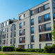 New gray apartment houses in Munich - PhotoDune Item for Sale