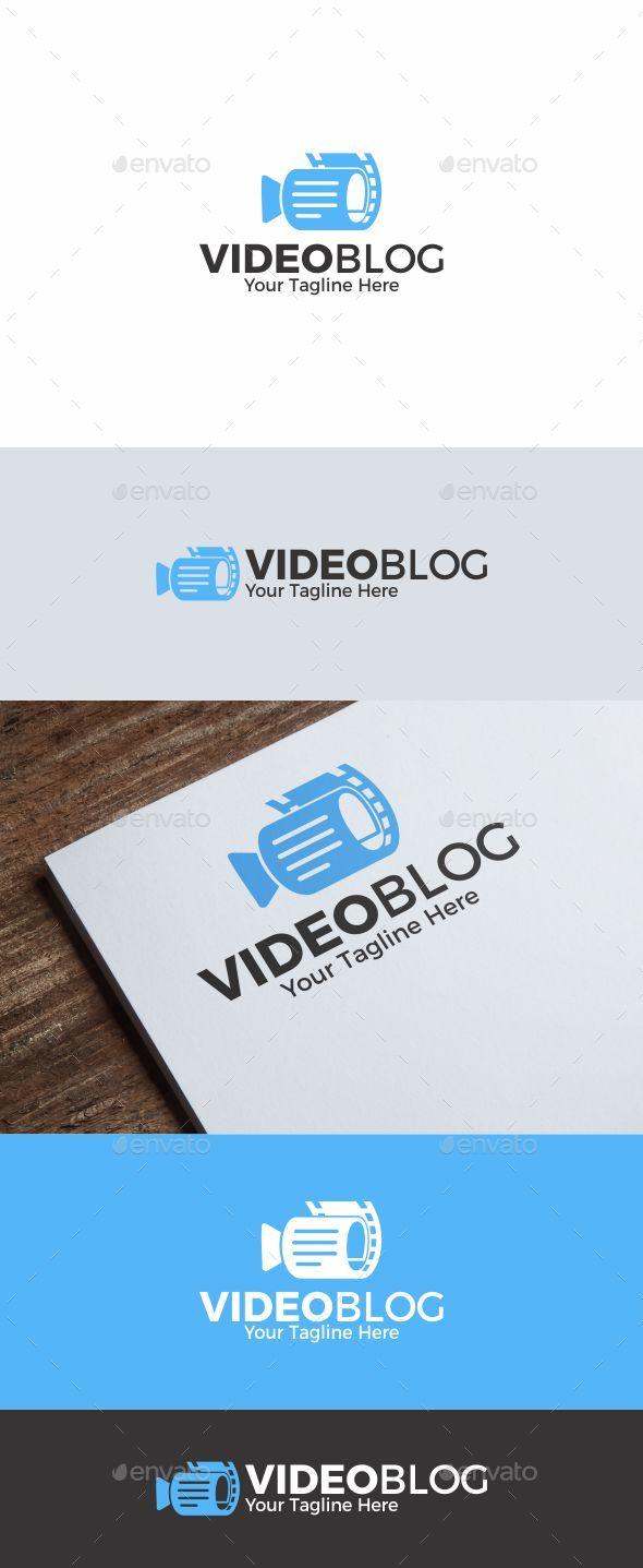 Video Blog logo - Symbols Logo Templates
