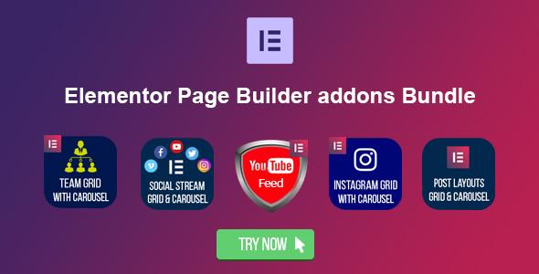Elementor Page Builder Addons Bundle - CodeCanyon Item for Sale