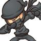 Dabbing Ninja