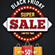 Black Friday  Season Sale Flyer - GraphicRiver Item for Sale