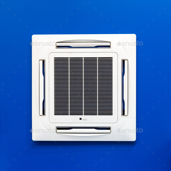 Ceiling air conditioner, split system - Stock Photo - Images