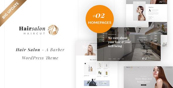 Hair Salon - A Barber WordPress Theme - Health & Beauty Retail