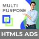Probiz - Multipurpose HTML5 Banner Ad Templates (GWD)
