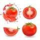 Tomatoes Isolated Realistic Illustration - GraphicRiver Item for Sale