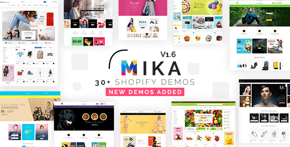 Mika - Multipurpose eCommerce Shopify Theme