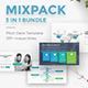 MixPack 3 in 1 Bundle Creative Google Slide Template