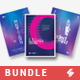 Minimal Sound 8 - Party Flyer / Poster Templates Bundle - GraphicRiver Item for Sale