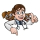 Cartoon Vet Cat and Dog Characters Sign - GraphicRiver Item for Sale