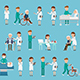 Medical Characters Pack - 22 Actions - VideoHive Item for Sale