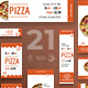 Tasty Pizza Banner Pack - GraphicRiver Item for Sale