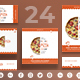 Tasty Pizza Social Media Pack - GraphicRiver Item for Sale