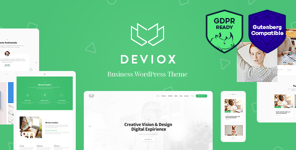 Deviox | A Trendy Multi-Purpose Business WordPress Theme - Business Corporate