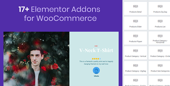 Mega WooCommerce Addons for Elementor (Add-ons)