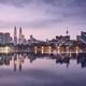 Moody sunrise in Kuala Lumpur - PhotoDune Item for Sale