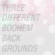 3 Different Paradise Boohem Backgrounds - GraphicRiver Item for Sale