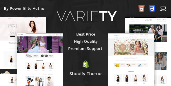 Variety - Sectioned Multipurpose Shopify Theme