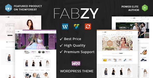 Fabzy - Multipurpose WooCommerce Theme - WooCommerce eCommerce