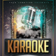 Karaoke Weekend Flyer - GraphicRiver Item for Sale