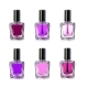 Nail Polish Bottles on White Background - GraphicRiver Item for Sale