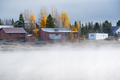 Foggy misty autumn landscape in Colorado, USA - PhotoDune Item for Sale