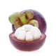 Mangosteen cut half with full balls on white background. - PhotoDune Item for Sale