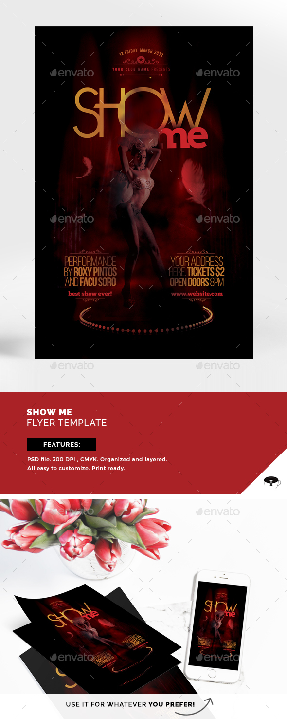 Show Me Flyer Template - Events Flyers