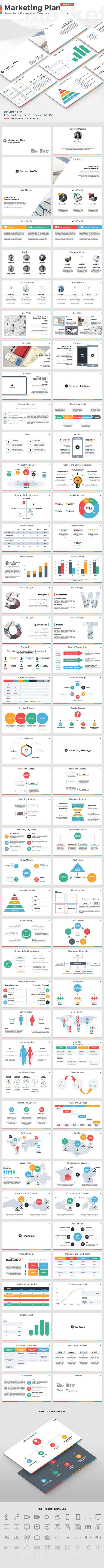 Marketing Plan - PowerPoint Presentation Template - PowerPoint Templates Presentation Templates