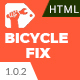 Bicycle Fix - Bicycle Repair, Maintenance and Tune-Ups Shop HTML5 Template - ThemeForest Item for Sale