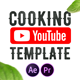 Cooking YouTube Template | MOGRT - VideoHive Item for Sale
