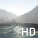 Blue Ocean Mountains and Fog - VideoHive Item for Sale