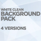 White Clean Backgrounds Pack - VideoHive Item for Sale