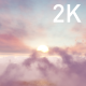 Flight Through Pink Purple White Clouds in the Sky - VideoHive Item for Sale