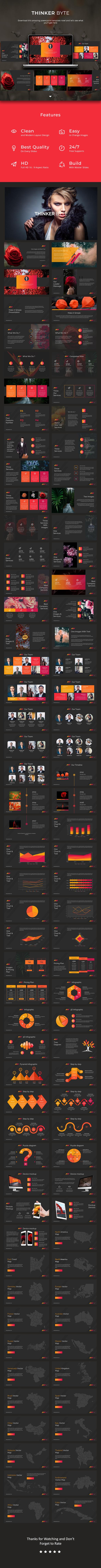 Thinker Byte Google Slides - Google Slides Presentation Templates