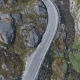 Aerial View of Mountain and Road To Dalsnibba, Spring Landscape, Norway - VideoHive Item for Sale