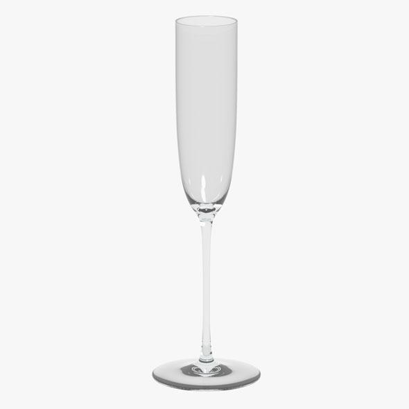 Glass Riedel Superleggero Champagne Flute - 3DOcean Item for Sale