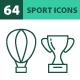 64 Sport Icons