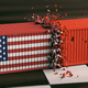 USA and China trade war. US of America and chinese flags crashed containers - PhotoDune Item for Sale