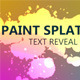 Reveal Text and Logo with Paint Splatters - VideoHive Item for Sale