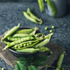 Unpeeled  peas in bowl - PhotoDune Item for Sale