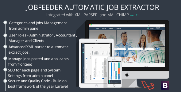 Jobs Aggregator - Automated Jobs Extractor - CodeCanyon Item for Sale