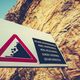 Dangerous Cliffs Sign - PhotoDune Item for Sale